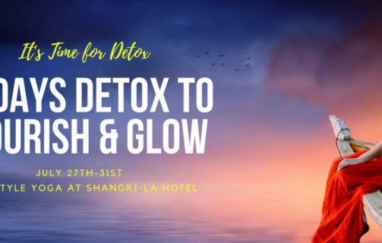 5-Days Detox to Nourish & Glow
