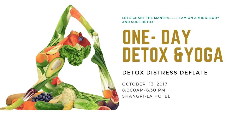 Detox and yoga