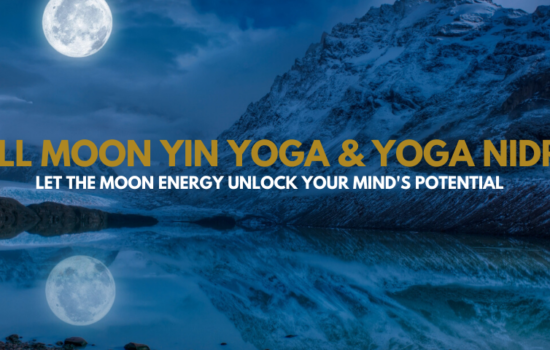 Full Moon Yin Yoga Yoga Nidra